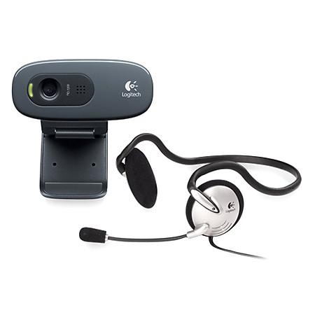 Webcam Logitech C270H - Có Kèm Theo Tai Nghe