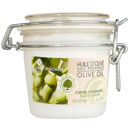 Kem Dưỡng Thể Olive Yves Rocher Silky Cream Olive Oil (200ml) - Y101005