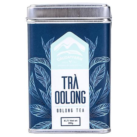 Trà Ôlong Cầu Đất Farm - Đà Lạt Dạng Lon 200gr - CDTOBT0200