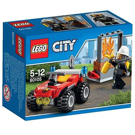 Mô Hình LEGO City Fire – Xe Cứu Hỏa Cơ Động 60105 (64 Mảnh Ghép)