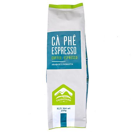 Cà Phê Espresso Nguyên Hạt Cầu Đất Farm - Đà Lạt (250g)