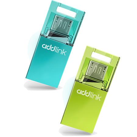 Dual USB Addlink T50 8GB - Micro USB & USB 2.0