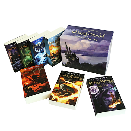 Harry Potter 7 Volume Children'S Paperback Boxed Set