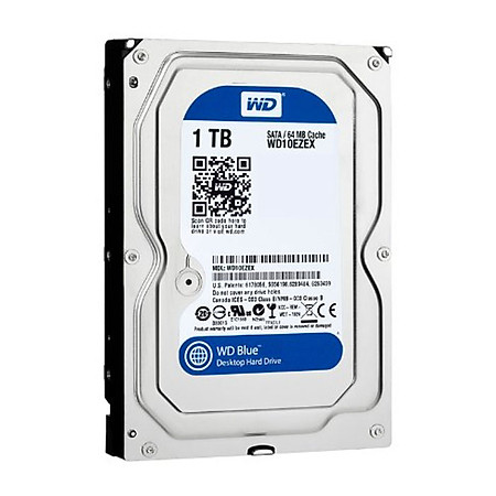 Ổ Cứng Trong PC WD 1TB (64MB) 7200rpm 3.5″ Blue™