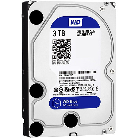 Ổ Cứng Trong PC WD 3TB 3.5″ Blue™