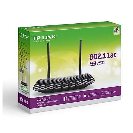 TP-Link Archer C2 - Gigabit Router Wifi Băng Tần Kép