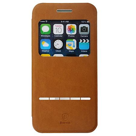 Bao Da Baseus Terse Cho iPhone 6 - Nâu