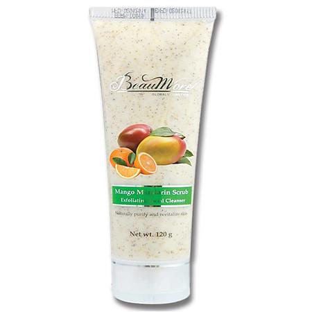 Sữa Rửa Mặt Hạt Cát  - New Beaumore Mango Mandarin Facial Scrub TP104 (120g)