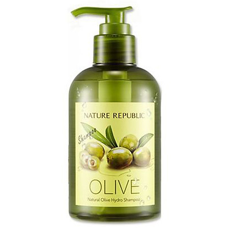 Dầu Gội Dưỡng Chất Từ Dầu Olive Nature Republic Natural Olive Hydro Shampoo (310ml)