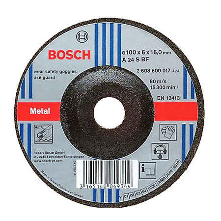 Đĩa Mài Bosch 6.0 X 100 mm
