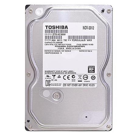 Ổ Cứng Trong PC Toshiba 500GB -3.5″/SATA3/7200rpm/32MB