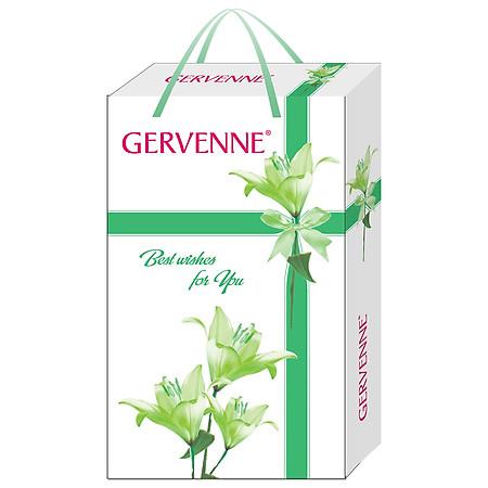 Hộp Quà Gervenne Sữa Tắm Trắng Da Hương Hoa Lily 450g - 6015039