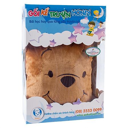 Gối Kể Truyện Gấu Pooh Honey - HGN-01 - Nâu Đậm