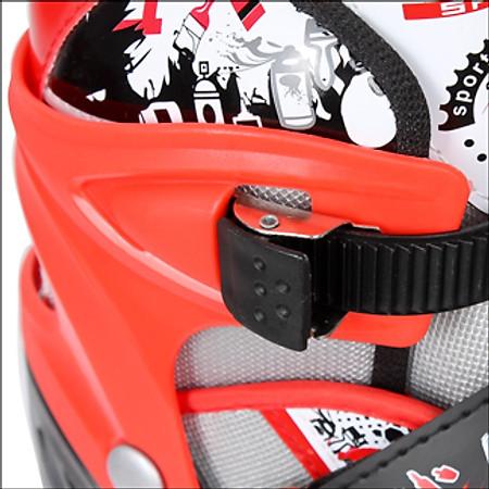 Combo Găng Tay + Mũ bảo Hiểm + Giày Patin PTB - PT01 - Size L (39 - 42)