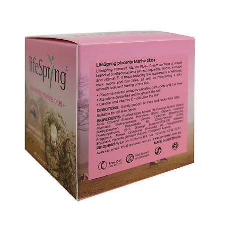 Kem Lifespring Trị Nám Tàn Nhang Nhau Cừu Lanopearl 100g - LC01