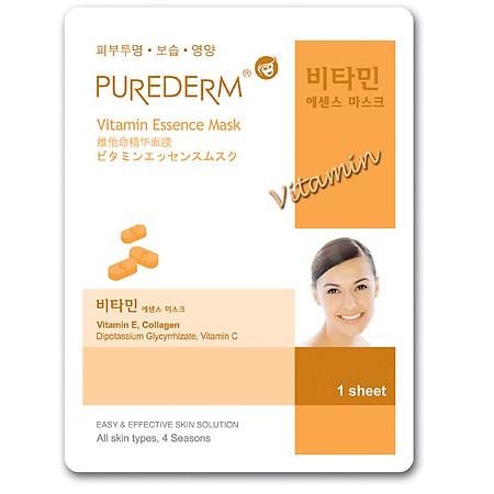 Mặt Nạ Giấy Vitamin PUREDERM 23ml