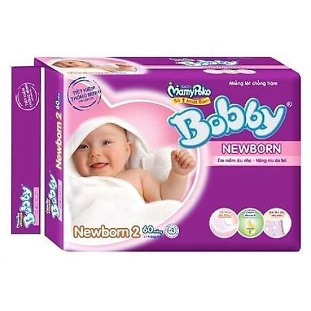 Miếng Lót Bobby Fresh Newborn 2 (60 Miếng)