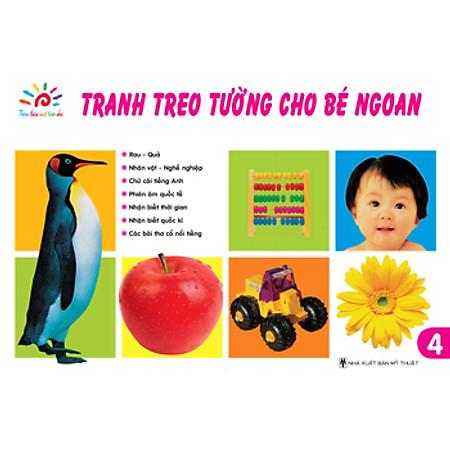 Tranh Treo Tường Cho Bé Ngoan - Tập 4