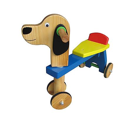 Xe Ngồi Đẩy Vietoys - Con Chó VT3P-0110