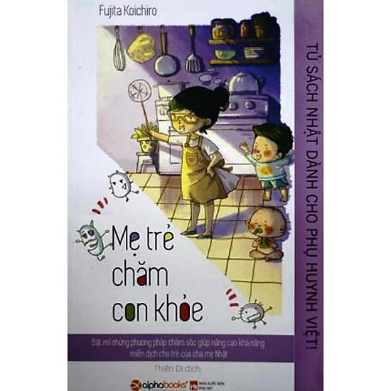 Tủ Sách Nhật Dành Cho Phụ Huynh Việt – Mẹ Trẻ Chăm Con Khỏe