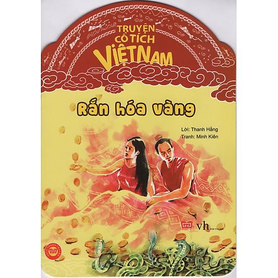 [Download Sách] Truyện Cổ Tích Việt Nam - Rắn Hóa Vàng