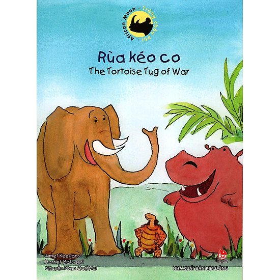 Trăng Châu Phi – Rùa Kéo Co (Song Ngữ Việt Anh)