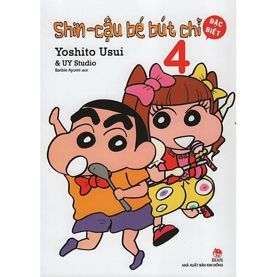 [Download sách] Shin - Cậu Bé Bút Chì 4 (Bản Đặc Biệt)
