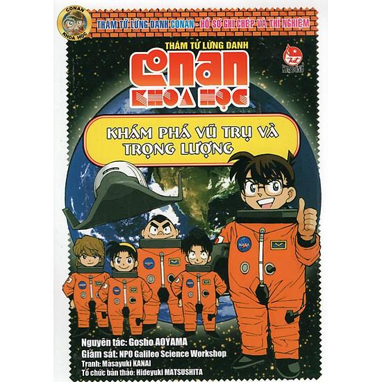 Conan Khoa Học – Khám Phá Vũ Trụ Và Trọng Lượng