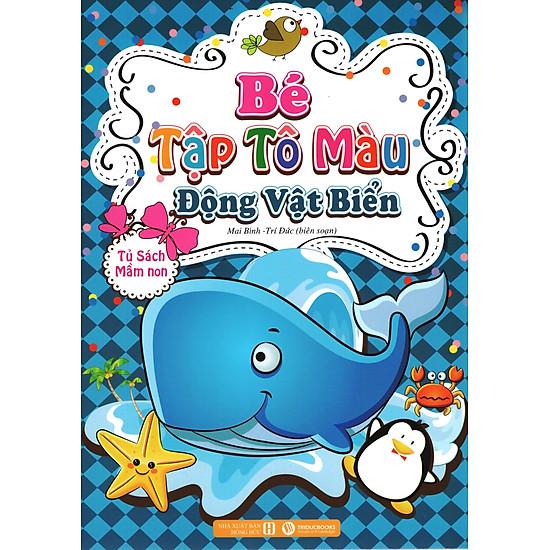 Download sách Bé Tập Tô Màu – Động Vật Biển