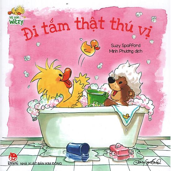 Download sách Vịt Con Witzy - Đi Tắm Thật Thú Vị