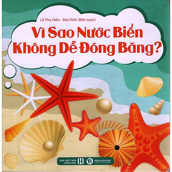 Vì Sao Nước Biển Không Dễ Đóng Băng?