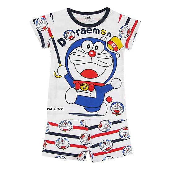 Bộ Bé Trai Hình Doraemon Trắng Suri House