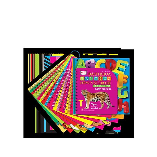 [Download Sách] Xâu 10 Cuốn Bách Khoa Tri Thức Đông Vật Cho Bé – Song Ngữ Anh Việt