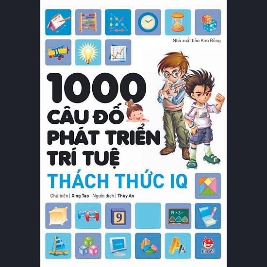 Download sách 1000 Câu Đố Phát Triển Trí Tuệ - Thách Thức IQ