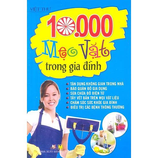 [Download Sách] 10.000 Mẹo Vặt Trong Gia Đình