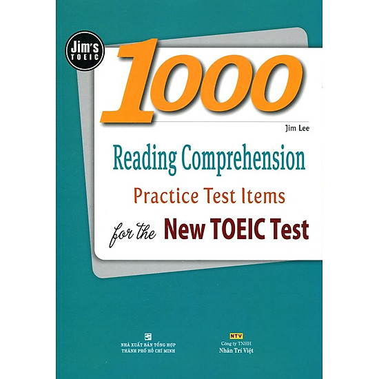 [Download Sách] 1000 Reading Comprehension Practice Test Items For The New TOEIC (Không CD)