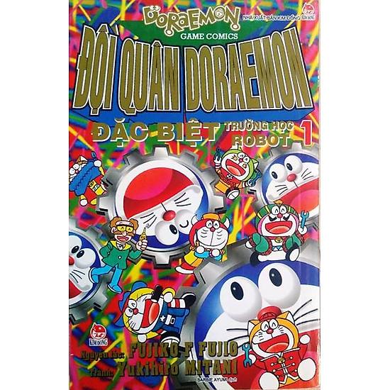 Đội Quân Doraemon Đặc Biệt - Trường Học Robot (Tập 1)