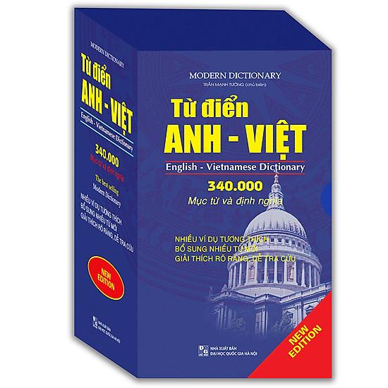 [Download Sách] Từ Điển Anh Việt 340.000 Mục Từ Và Định Nghĩa (Bìa Mềm)