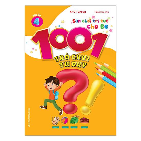 1001 Trò Chơi Tư Duy - Quyển 4