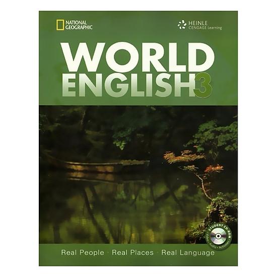 [Download Sách] World English 3: Class Audio CD