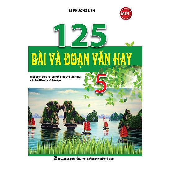 [Download sách] 125 Bài Và Đoạn Văn Hay Lớp 5