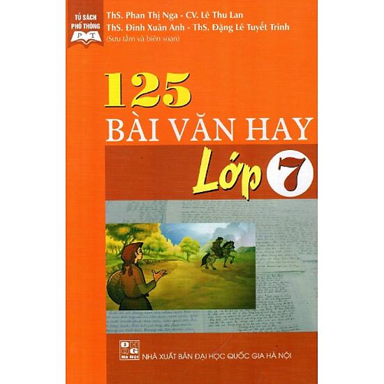 125 Bài Văn Hay Lớp 7