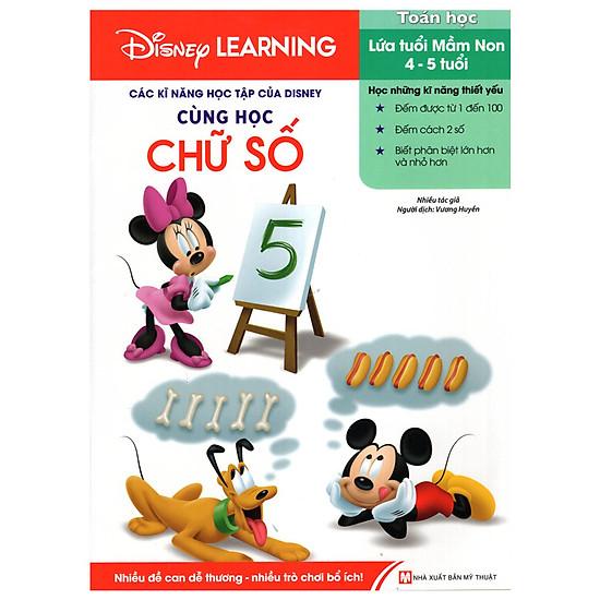 [Download sách] Disney Learning - Cùng Học Chữ Số
