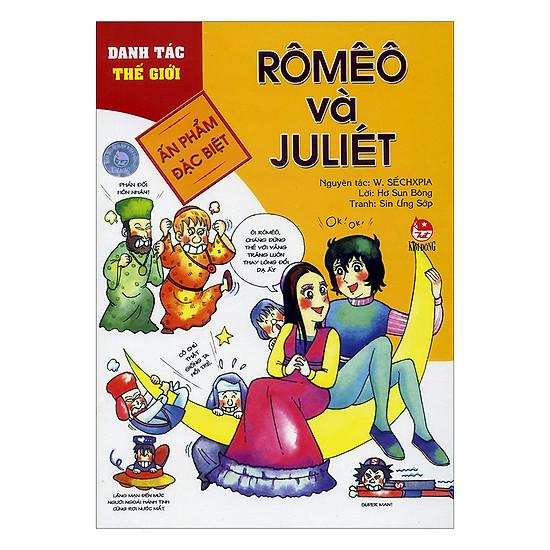 [Download Sách] Danh Tác Thế Giới: Rômêô Và Julliét (Tái Bản 2017)