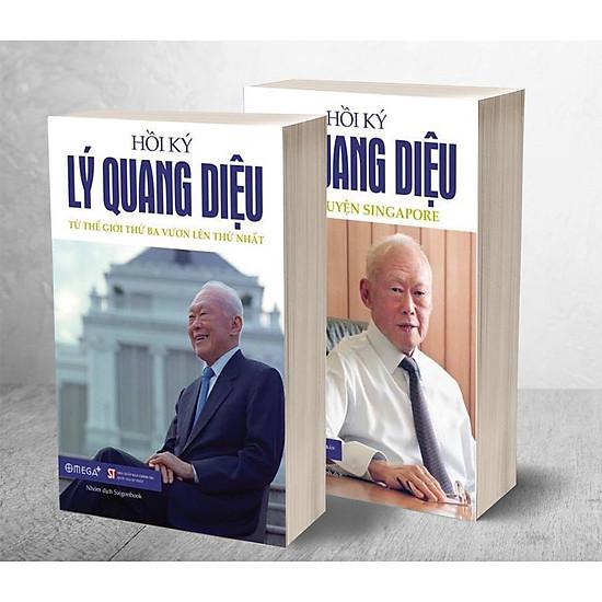 Download sách Bộ Sách Hồi Ký Lý Quang Diệu (Trọn Bộ 2 Tập)