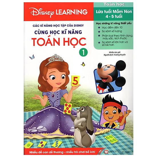 [Download sách] Disney Learning - Cùng Học Kĩ Năng Toán Học 1