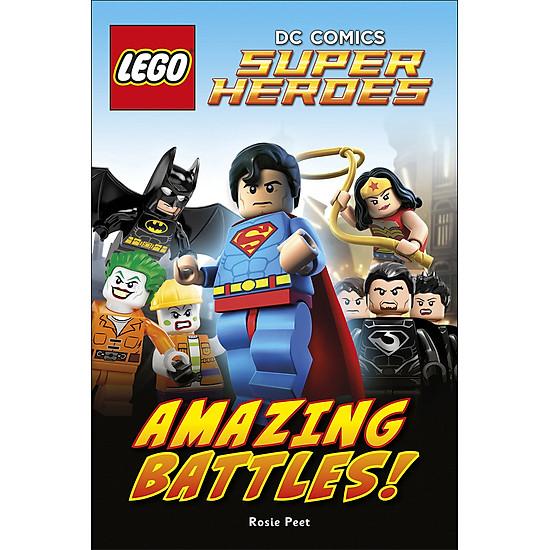 DK Reads LEGO® DC Comics Super Heroes: Amazing Battles