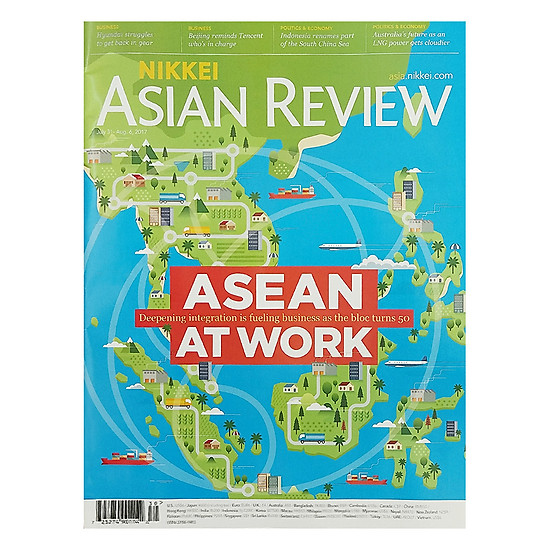 [Download sách] Nikkei Asian Review: Asean At Work - 30