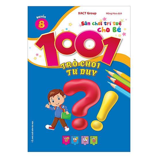 1001 Trò Chơi Tư Duy - Quyển 8