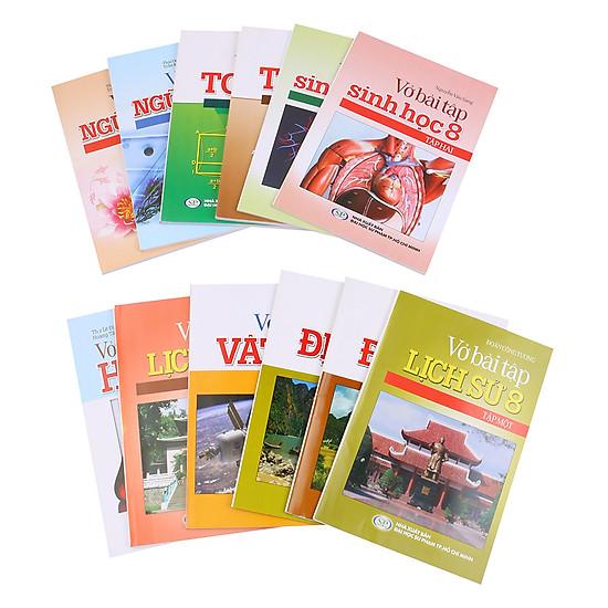 [Download Sách] Combo Vở Bài Tập Dành Cho Học Sinh Lớp 8 (Trọn Bộ 12 Cuốn)